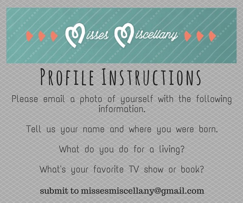 Profile Instructions